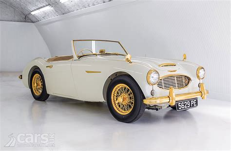 Gold Plated Cars For Sale by Gold Plated 1958 Healey 100 Six Up For Sale Cars Uk