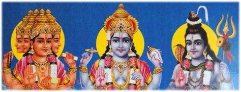 Statues Of Gods Brahma Vishnu And Mahesh Enter Our Site Keystone