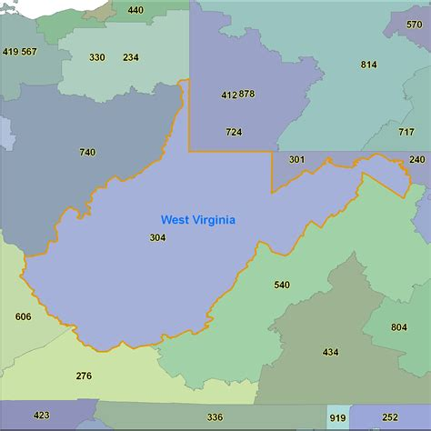 Uva Find 26 Excellent Virginia Area Code Map Bnhspine