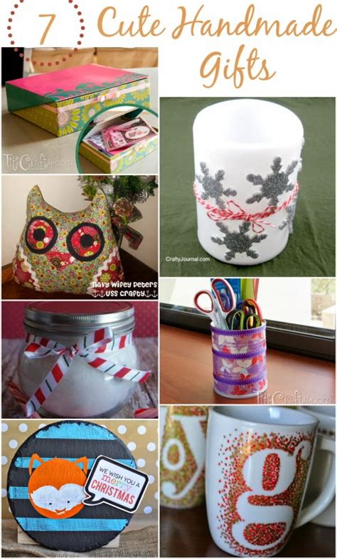 Easy Handmade Gifts - and easy handmade gift ideas the crafty stalker