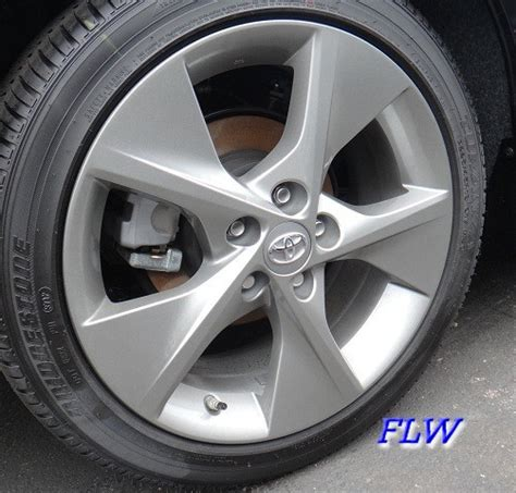 2013 Toyota Camry Tire Size 2013 Toyota Camry Oem Factory Wheels And Rims
