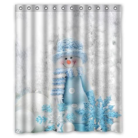 snowman shower curtain set snowman shower curtain sets comfy christmas