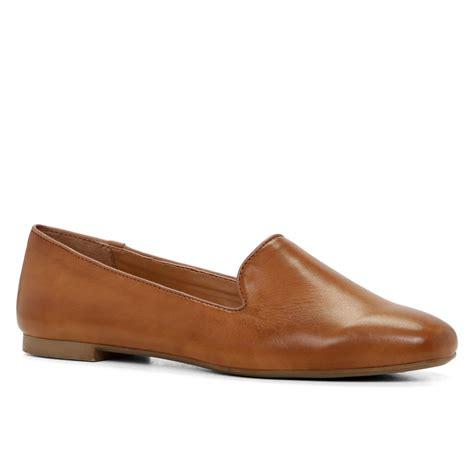 aldo loafers aldo brown sherwin square toe loafers lyst