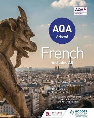 aqa a level french 0198415532 aqa a level french includes as rod hares 9781471857959