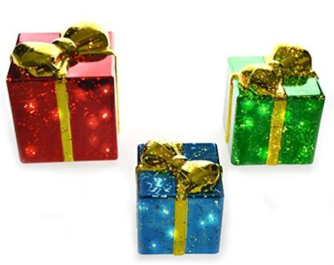lighted gift boxes outdoor lighted gift boxes gifts for everyone