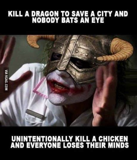 Skyrim Memes And Jokes - skyrim damn ungrateful people things i like just