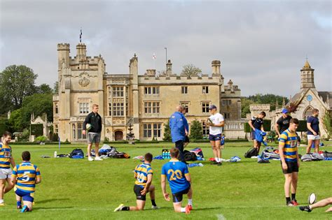rugby house of bath rugby players start pre season build up
