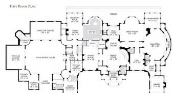 Million Dollar House Floor Plans by Million Dollar House Plans