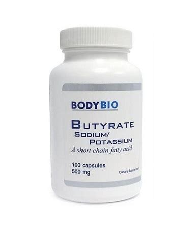 Butyrate Detox by Butyrate Sodium Potassium Clinicians Supplement