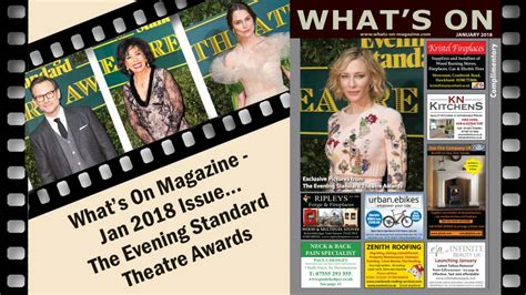 Magazine News Of The Evening by What S On Magazine