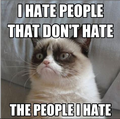 I Hate People Meme - grumpy cat work quotes quotesgram