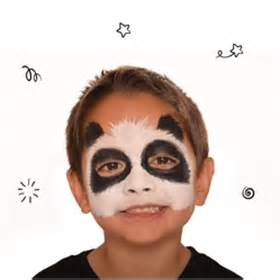 panda face paint beginners guide snazaroo