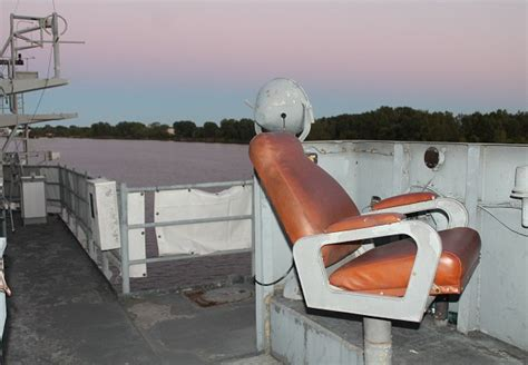 Watchmans Chair by Mybaycity Up And Personal On The Uss Edson