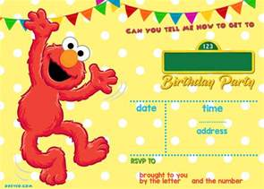 sesame invitation template free printable elmo sesame birthday