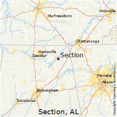 section alabama zip code best places to live in section alabama