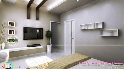 bedroom design unit bedroom living and dining interiors kerala home design