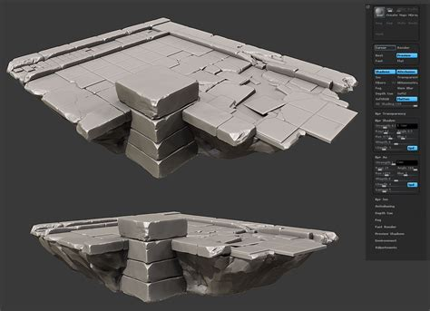zbrush tutorial architecture what are you working on 2011 edition page 138