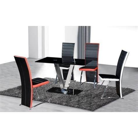 Small Glass Dining Table And 4 Chairs Cheap V Black Glass Dining Table And Chairs Set For Sale