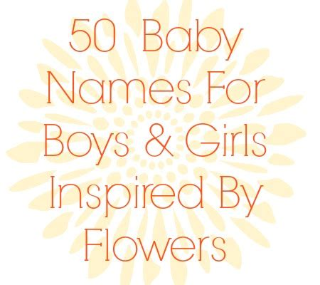 flowers names 50 baby names inspired by flowers disney baby