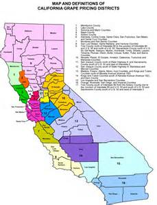 california school districts map where are grapes grown in the united states