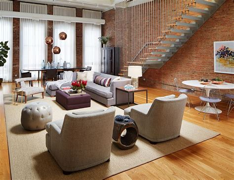 stylish furniture for living room 100 brick wall living rooms that inspire your design