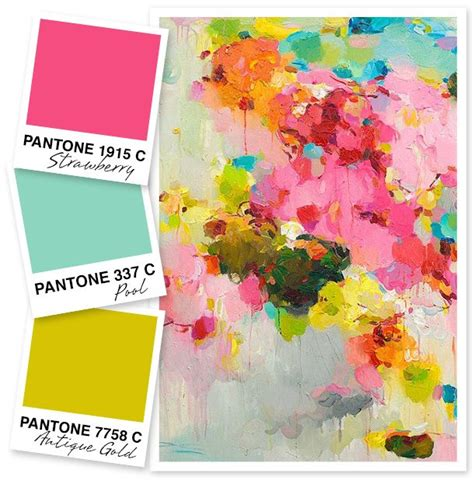 choosing a color scheme these paper hearts 1000 ideas about complimentary colors on pinterest