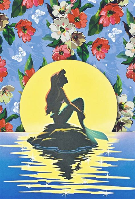 disney iphone wallpaper disney the little mermaid ariel floral disney princess