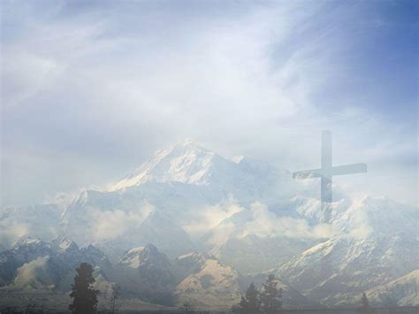 powerpoint templates free mountains cross image with backgrounds wallpaper cave
