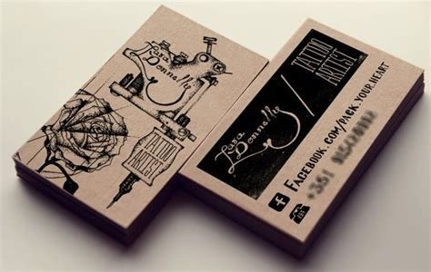 tattoo visiting card design 17 best images about business card inspiration on