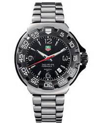 Tagheuer Mclaren Orange Formula 1 Silver Brown Leather tag heuer formula 1 discontinued watches at gemnation