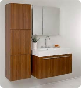 fresca vista 36 x 19 teak modern bathroom vanity fvn8090tk