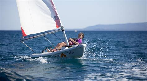catamaran sailing dinghy dinghy sailing holidays free tuition rya courses neilson
