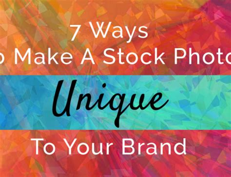 What Makes Your Brand Unique - top 10 must graphics for your presence
