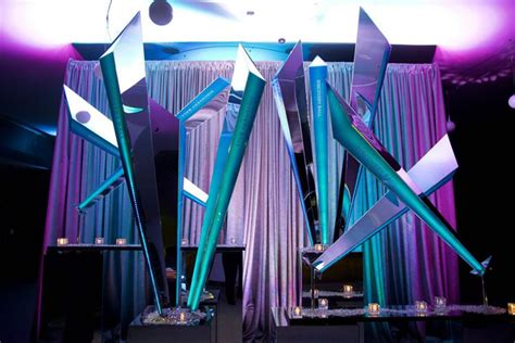 design event hmr designs used light as a central element of decor at