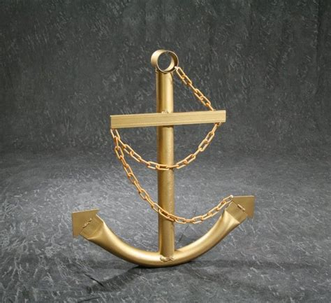 speed boat anchor steel navy boat anchor with chain 72 quot gold