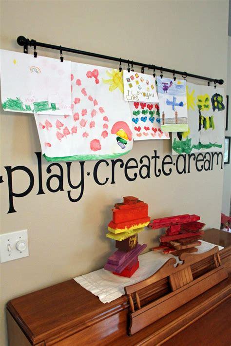 ways to display artwork ways to display kids art reasons to skip the housework