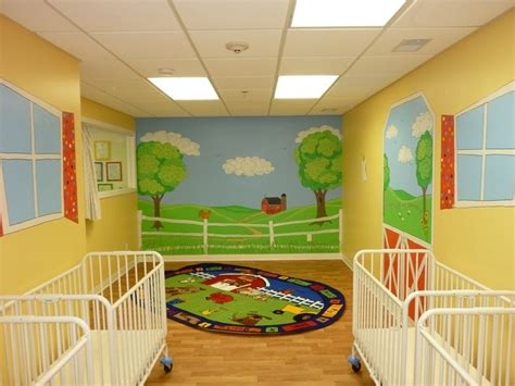 Childcare Baby Room Ideas by 17 Best Images About Daycare Pediatrician Wall Murals