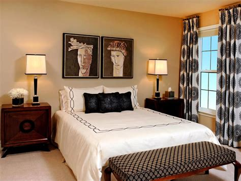 Bedroom Windows Decorating Dreamy Bedroom Window Treatment Ideas Hgtv