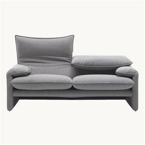 maralunga sofa maralunga 3 sitzer sofa cassina