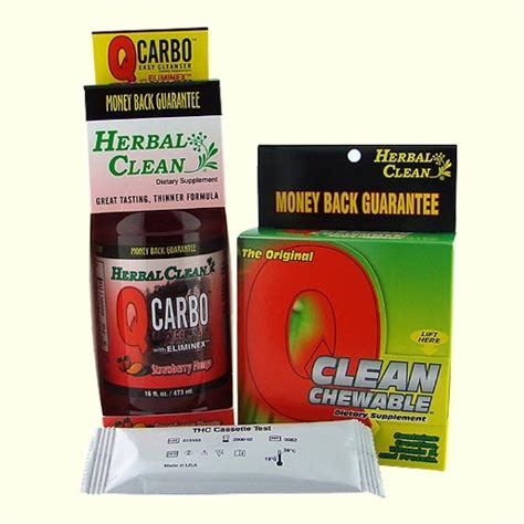 Home Detox For Thc by Fast Thc Marijuana Detox Kit For 200 Lbs