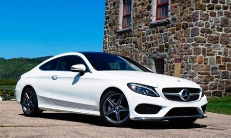 2017 C300 Coupe White by 2017 Mercedes C300 Coupe Drive Review Ctv