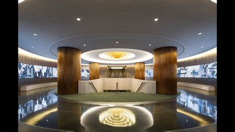 nbcuniversal lobby award  merit  iald lighting design awards youtube