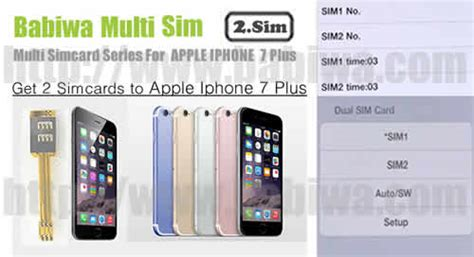 2 simcard for apple iphone 7 plus rosegold genuine apple iphone 7 plus rosegold dual sim card