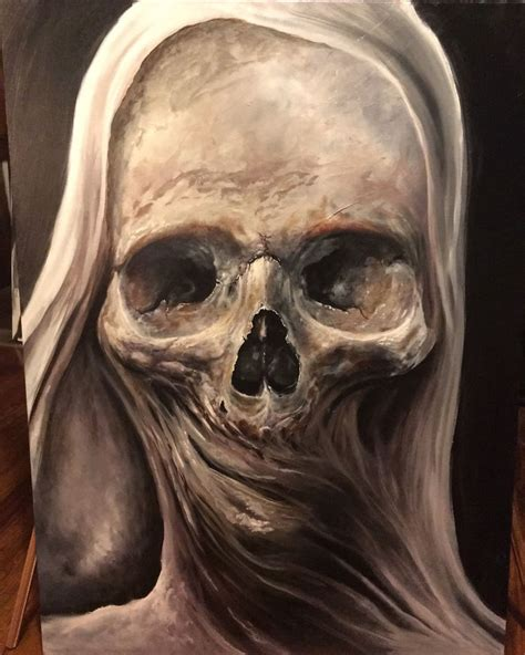 the art of horror my latest horror paintings created with oil bored panda