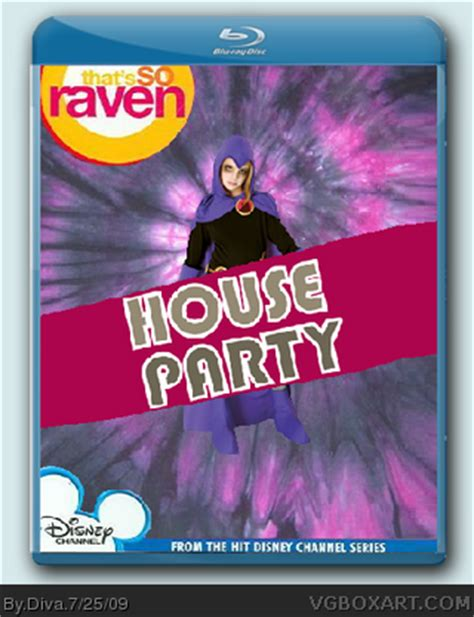 that so raven house that s so raven house party blu ray movies box art cover by diva