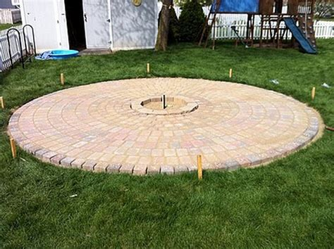 how to build a paver pit diy pit 11 home design garden architecture