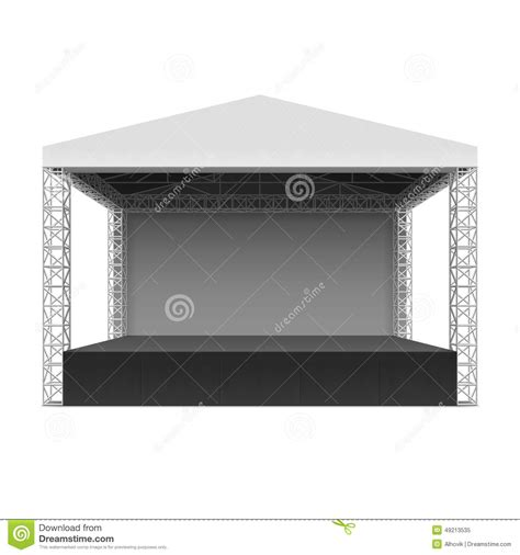 mainstage concert templates image gallery outdoor stage clip