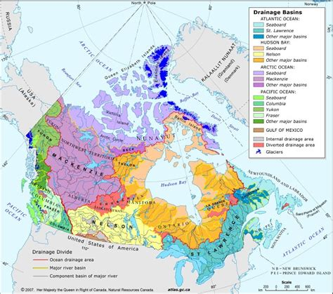 lakes in canada map map the lakes in canada search maps