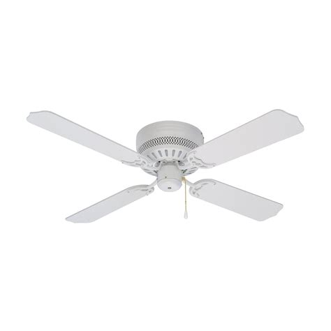 Ceiling Fans White by Litex Cci42ww4 42 In Celeste Flushmount Ceiling Fan Atg