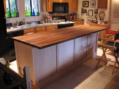build kitchen island with cabinets diy kitchen island cabinet the owner builder network